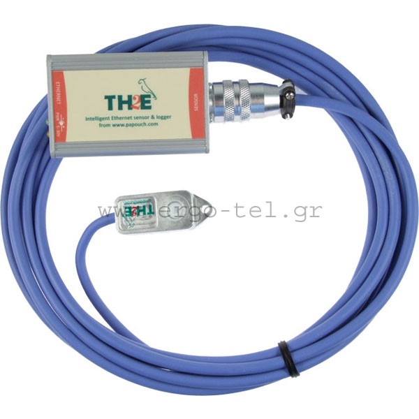 �������� ������������ - �������� ETHERNET �� ����� & LOGGER ��� ��������� ��������� PAPOUCH TH2E-LOG