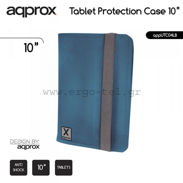 "���� ��� TABLET E��  10"" APPROX LIGHT BLUE APPUTC04LB �������"