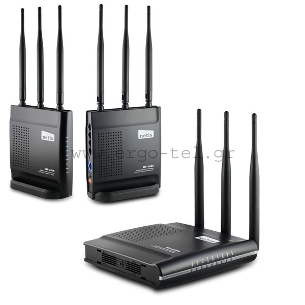 �������� ROUTER 300Mbps ACCESS POINT & REPEATER ��� 2,4GHz NETIS WF-2409