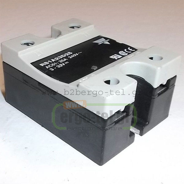 ���������O SSR ���� (SOLID STATE RELAY) RS1A23D40 ������� 4,5-32VDC ������ ACS1 40A/230VAC