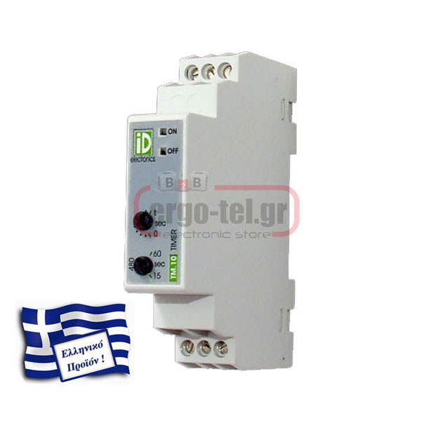 ������� (TIMER) ����� 24V AC-DC 230V KRONOS ��-10 1 MODULE DELAY ON ����������