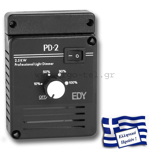 ��������� �������� - DIMMER PD-2 MAY�� 230V 2,5KW ����������/������ ������� �� SOFT START