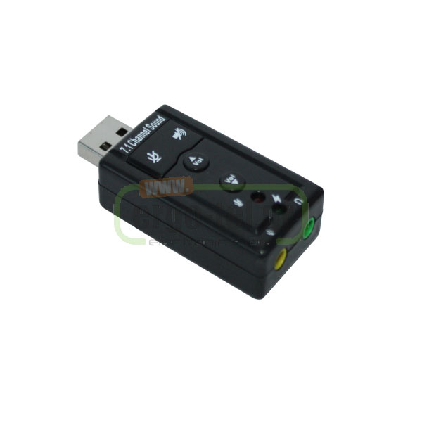 USB ΚΑΡΤΑ ΗΧΟΥ USB SOUND AUDIO ADAPTER WITH KEYS ΣΤΟ PC