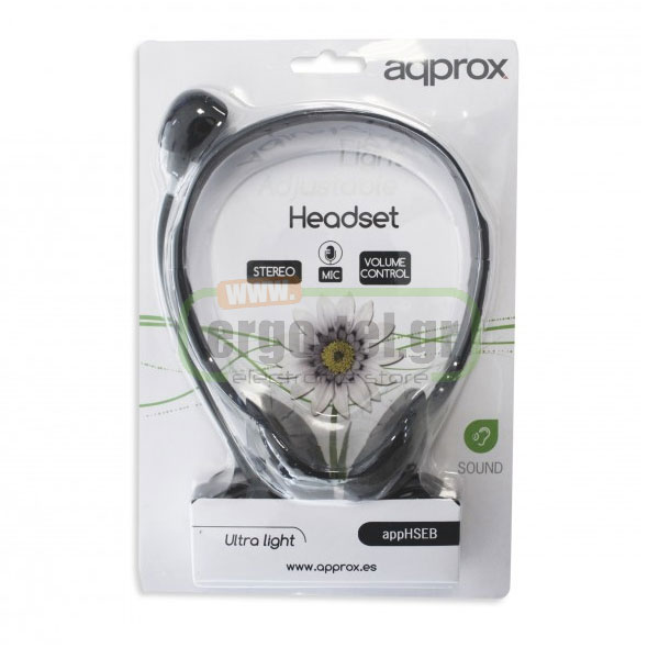 ��������� HEADPHONES LIGHT-WEIGHT STEREO ����� �� ��������� APPHSEB APPROX