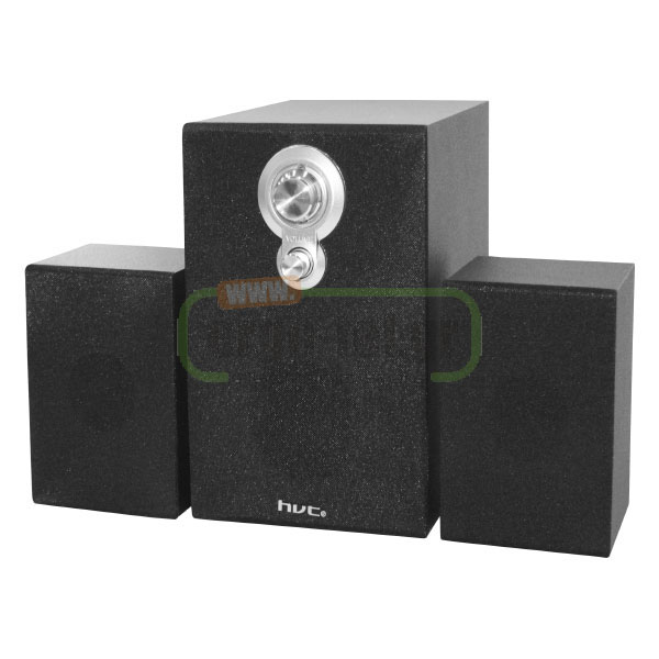 ΗΧΕΙΑ MINI 2.1 STEREO 1WOOFER & 2SPEAKERS 60Hz-20KHz ΓΙΑ PC, LAPTOP AS-W703B