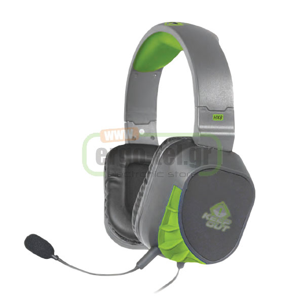 ��������� HEADPHONES ��� GAMING 110dB�3dB SPL ����� HX8