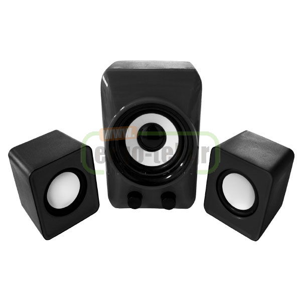 ΗΧΕΙΑ MINI 2.1 STEREO APPSP21M 1WOOFER & 2SPEAKERS 20Hz-18KHz APPROX