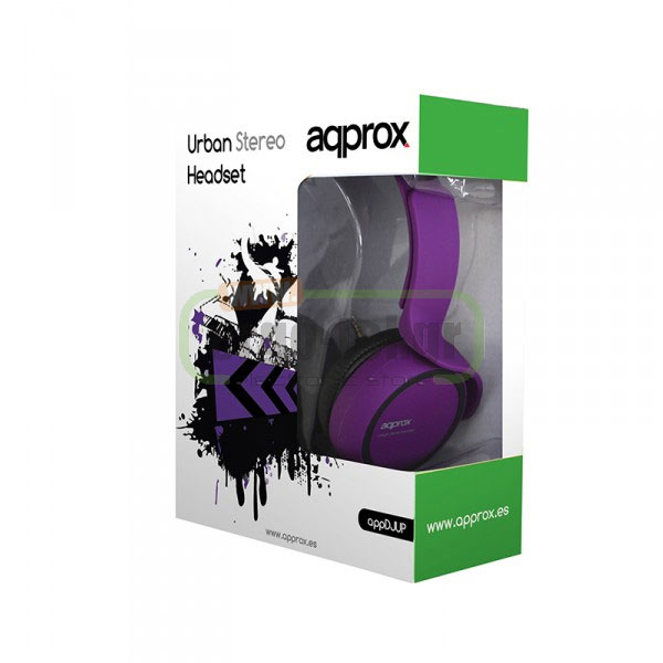 ��������� HEADPHONES STEREO URBAN ��� �� ��������� APPDJUP APPROX