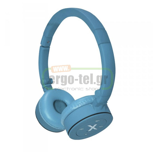 BLUETOOTH ΑΚΟΥΣΤΙΚΑ HEADPHONES FASHION 32Ohms ΜΠΛΕ APPHSBT02LB