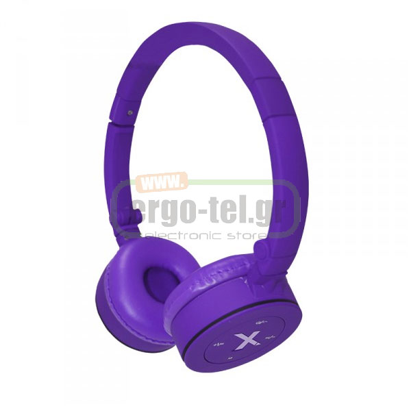 BLUETOOTH ΑΚΟΥΣΤΙΚΑ HEADPHONES FASHION 32Ohms ΜΩΒ APPHSBT02P