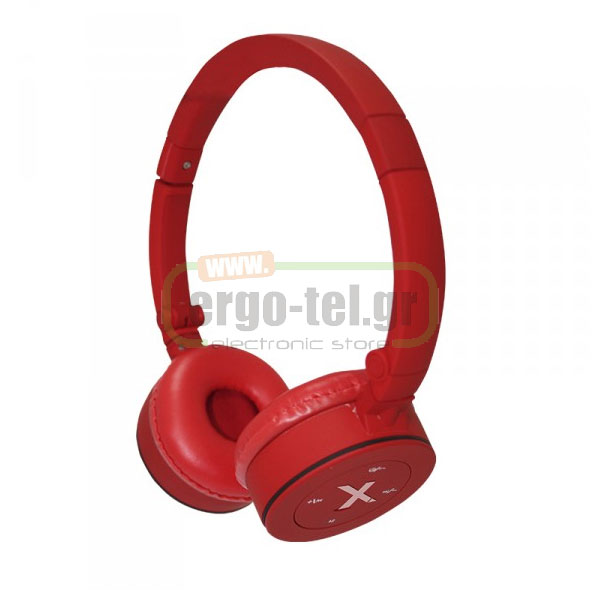 BLUETOOTH ΑΚΟΥΣΤΙΚΑ HEADPHONES FASHION 32Ohms ΚΟΚΚΙΝΟ APPHSBT02R