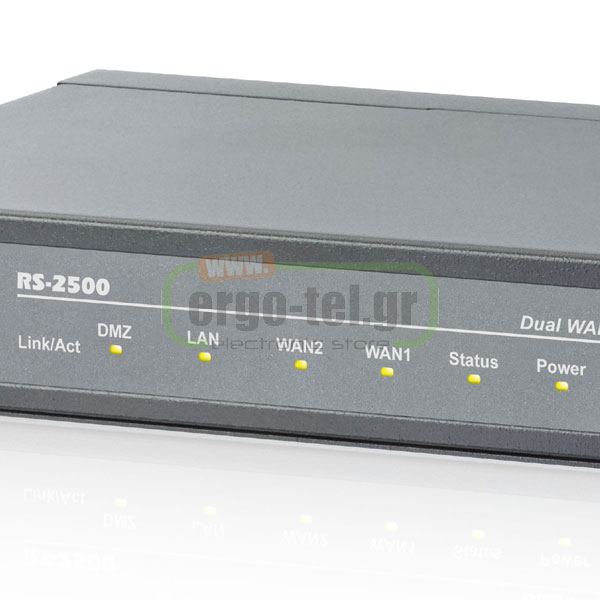 ROUTER ΑΣΦΑΛΟΥΣ ΔΙΚΤΥΩΣΗΣ AIRLIVE DUAL WAN SECURITY GATEWAYS RS-2500