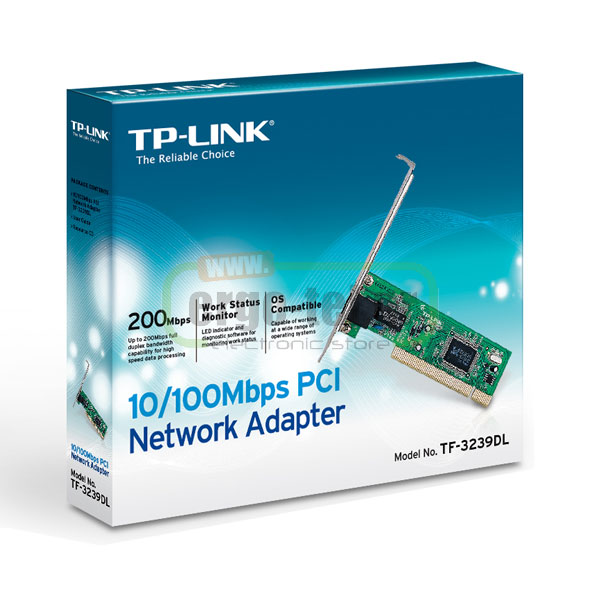 PCI NETWORK ADAPTER ΚΑΡΤΑ ΔΙΚΤΥΟΥ GIGABIT 10/100Mbps LAN TF-3239DL