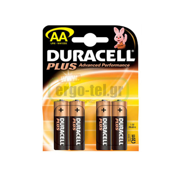 ��������� ��������� ������� ��������� DURACELL PLUS 1.5V �����:AA 4 ������� LR6