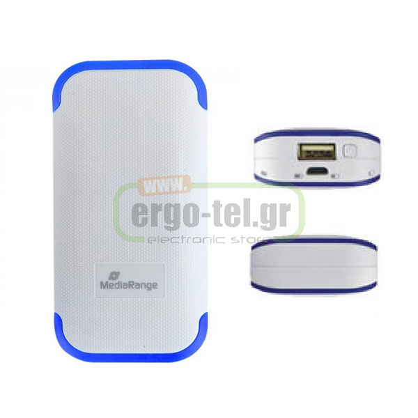 MEDIARANGE POCKET UNIVERSAL POWER BANK 4400mAh ��� �������� �������� MR741