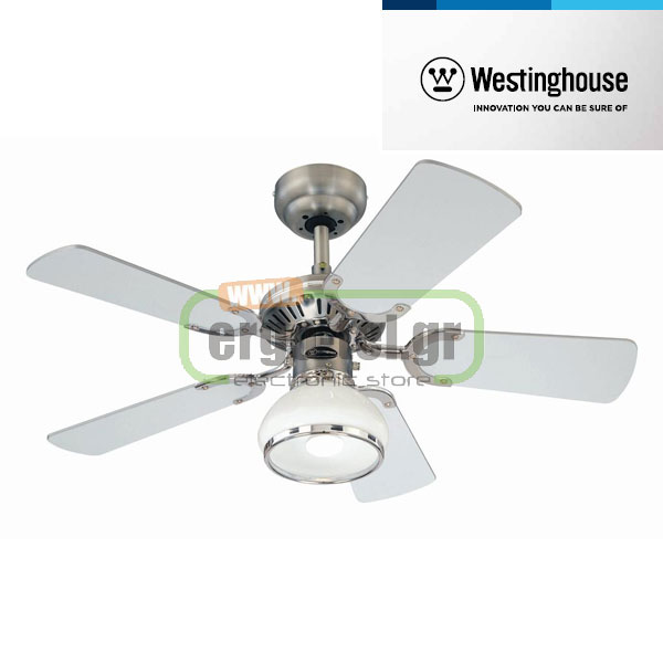 Ανεμιστήρας οροφής Westinghouse Princess Radiance II 72415  Dark Pewter/Chrome Φ105cm