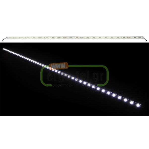 LED ����� ���������� 1m 12W �� 48LED 24VDC ����� 900LUMEN IP65 120�