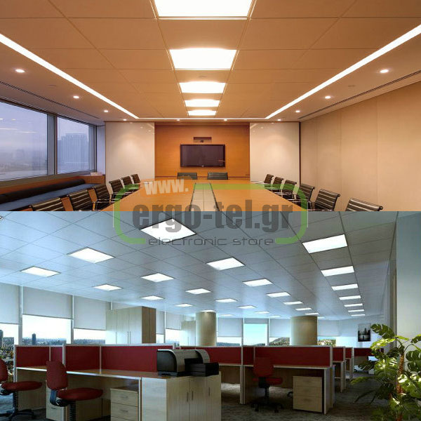 LED PANEL ��������� ��������� 30x60cm ������� 24W ��������� ����� ��� 4000k 1740 LUMEN