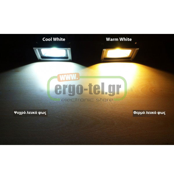 ��������� �� 2LED ������ 140W 230V ������� 3100k ����� ��� 12100 LUMEN 100� ���������� �������� IP65