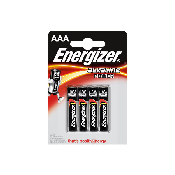 ��������� ��������� ENERGIZER ��-LR03 ALKALINE POWER �� ���������� 4 ��������