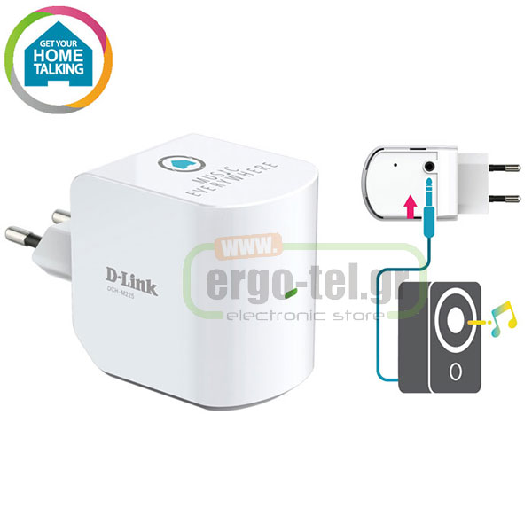 ΑΝΤΑΠΤΟΡΑΣ MYDLINK HOME DCH-M225 SMART HOME MUSIC EVERYWHERE ME WiFi REPEATER