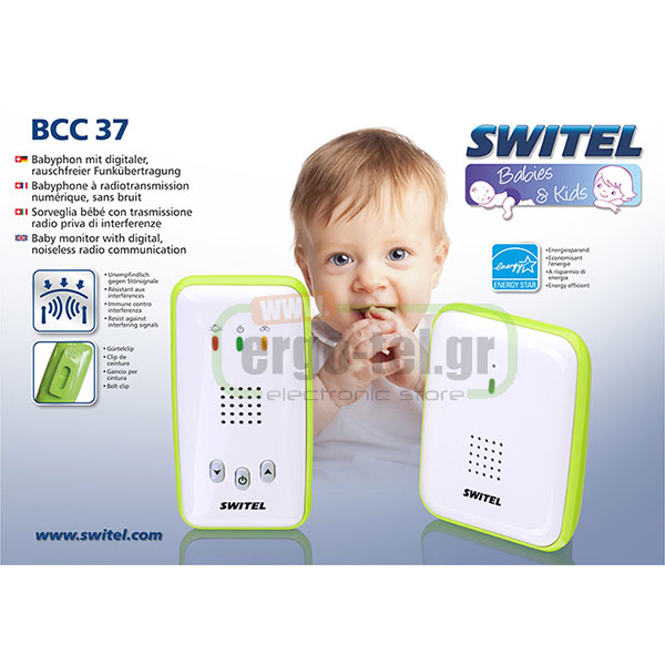 �������� BABY MONITOR SWITEL BCC 37 �������� ��� 300m