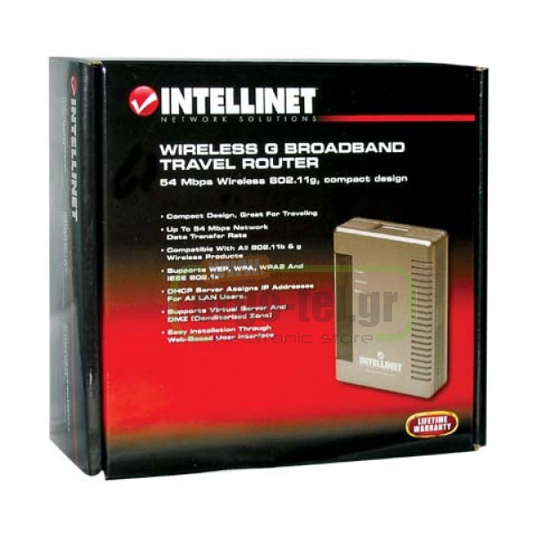�������� G BROADBAND ROUTER INTELLINET 523875 ������� ��� ������� ��� 54 Mbps