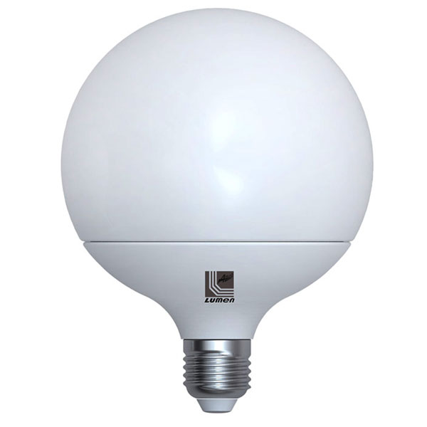 ����� led G120 Globe Ø120mm E27 20W 230V 6200k ����� ����� ��� 1800lm ������� IP44
