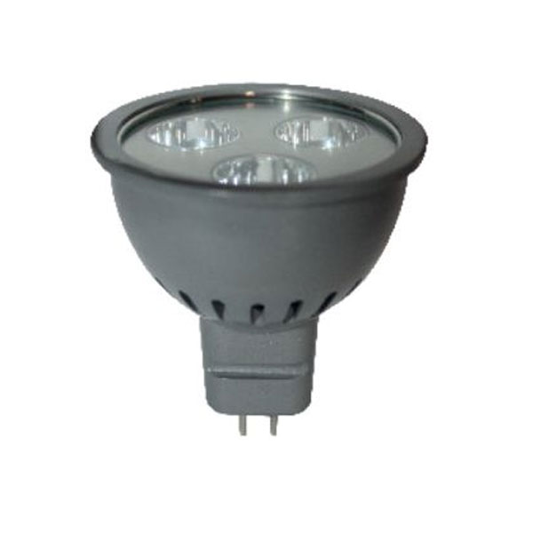 ����� led MR16 3W 12V AC/DC 4000k ��������� ����� ��� ������ 38� 250lumen Ø50mm