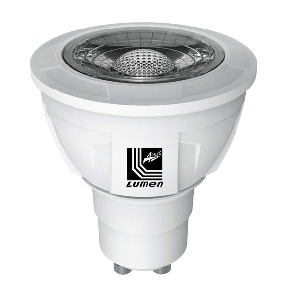 ����� led ������ GU10 8,5W 230V 3000k ����� ����� ��� ������ 36� 700 lumen �� 1 Led COB