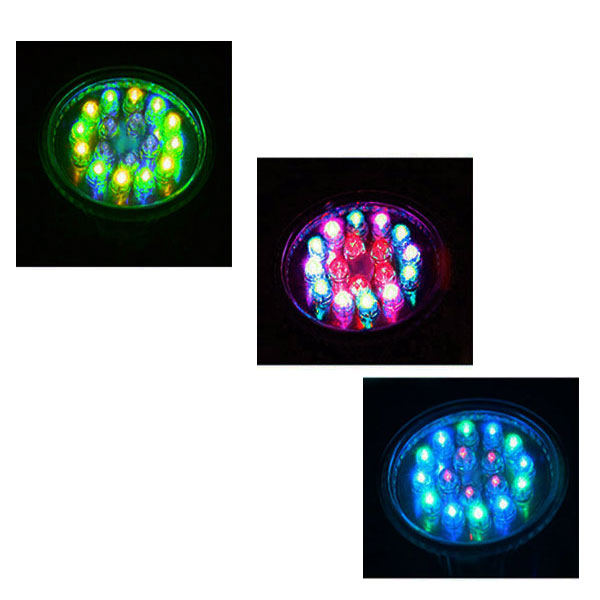 ����� led MR16 230V 0,7W ������������� RGB ��������� �������� �� ������� ������ 30�