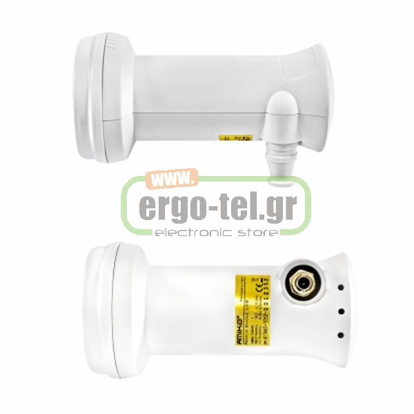 LNB AMIKO ���� - SINGLE UNIVERSAL L104 ����� 1,5G�� ������� 0,1db ������� �� HIGH DEFINITION