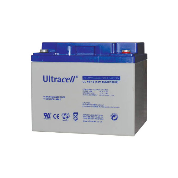 �������� �������� 12V 45Ah ����� TERMINAL F6 197x165x170mm ULTRACELL
