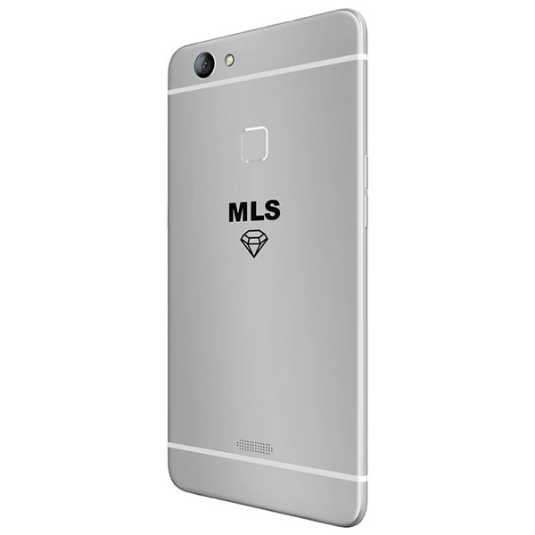 "Κινητό τηλέφωνο MLS DIAMOND TS 4G 5,5"" WHITE/SILVER FP DUAL SIM με οθόνη Super Amoled HD 5,5"""