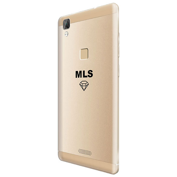 "Κινητό τηλέφωνο MLS DIAMOND C8 4G 5"" GOLD FP DUAL SIM με οθόνη Super Amoled HD 5"""