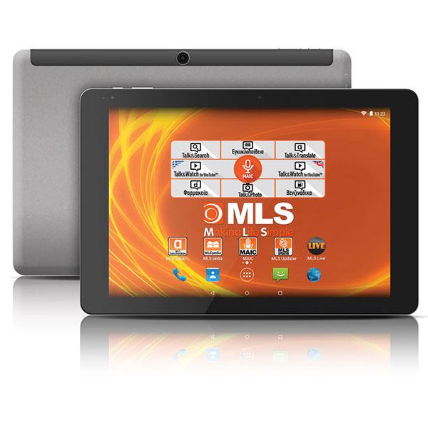 "TABLET ANDROID MLS PRIME 3G με οθόνη Full HD IPS 10,8"" & τετραπύρηνο επεξεργαστή 1,84GHz"