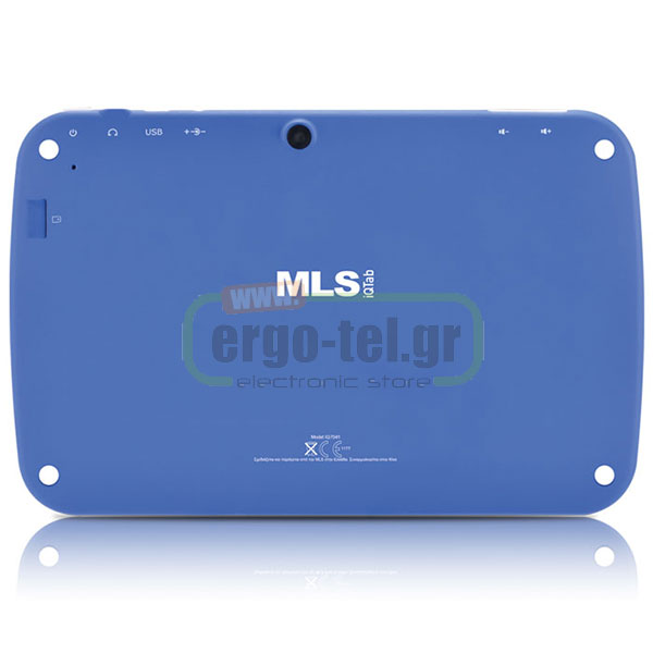 "TABLET ANDROID MLS iQTab Kido Extra Blue IPS 7"" QUAD CORE με εκπαιδευτικό υλικό στα ελληνικά"