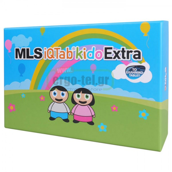 "TABLET ANDROID MLS iQTab Kido Extra Pink IPS 7"" QUAD CORE με εκπαιδευτικό υλικό στα ελληνικά"