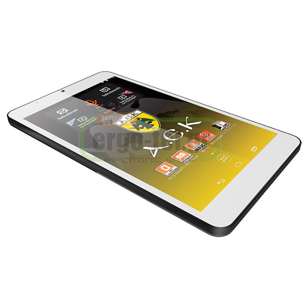 "TABLET ANDROID MLS ΑΕΚ Fan Tab IPS 8"" QUAD CORE 1,3GHz μνήμη RAM 1GB"