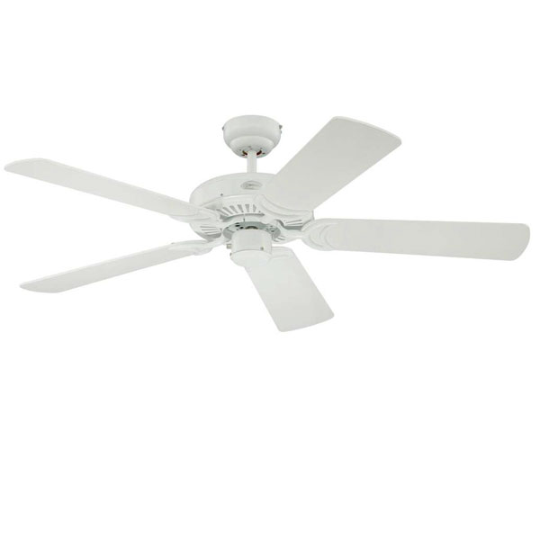 Ανεμιστήρας οροφής Westinghouse Monarch 78269 white Reversible Five-Blade Φ122cm