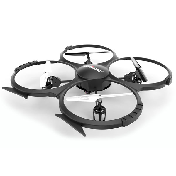 Drone UDIRC U818A με HD Camera 720p 30fps LCD controller 6-Axis σε μαύρο χρώμα