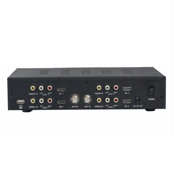 Διαμορφωτής SATLINK WS-7990 - 4 channel HD Modulator RF DVB-T/AV/HDMI 75Ω 35db
