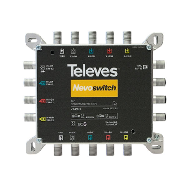 TAP NEVOSWITCH 714901 5x5x5 12db IP20