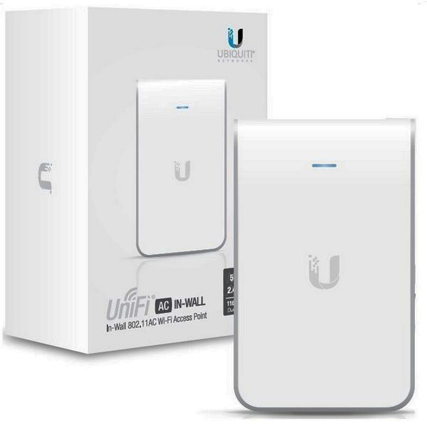 Ubiquiti UBNT UAP-AC-IW In–Wall 802.11ac Dual-Radio Access Point επίτοιχης τοποθέτησης