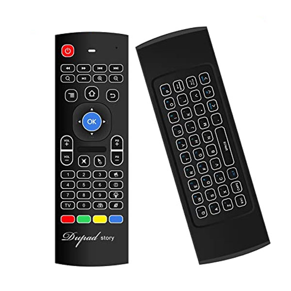 Χειριστήριο Multifunction Remote Controller AIR MOUSE mx3 BACKLIT για ANDROID και SMART TV