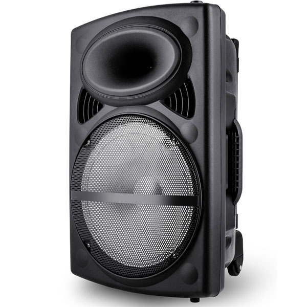 "Φορητό ηχείο VOICE KRAFT VK12-HF 12"" Woofer 50W RMS LED FM/USB/SD/BT με ενσωματωμένο radio tuner"