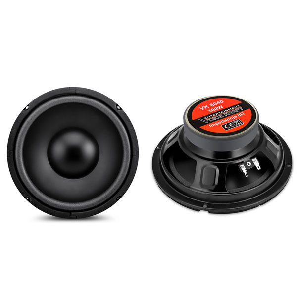 Ηχείο αυτοκινήτου VOICE KRAFT CLASSIC series woofer VK 8040-8 8 Ohm 120W RMS 90dB