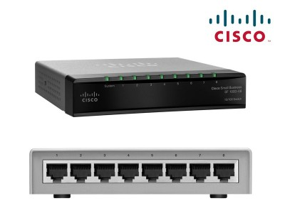 DESKTOP SWITCH CISCO SD208T-EU ΜΕ 8 ΘΥΡΕΣ 10/100 Mbps
